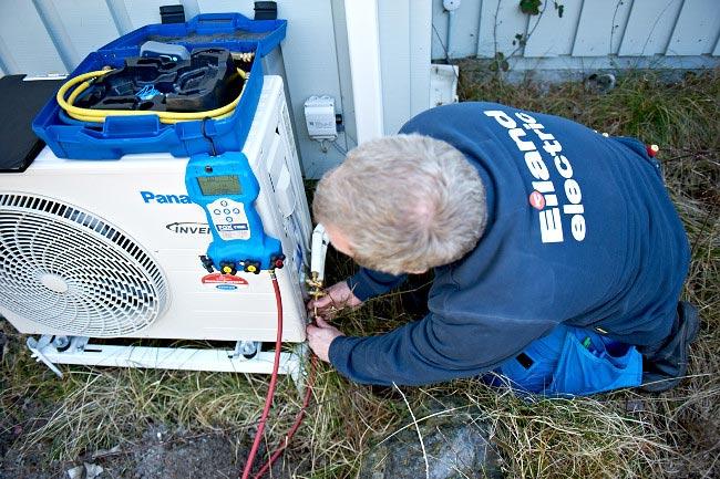 Varmepumper er yderst effektive i deres energiforbrug