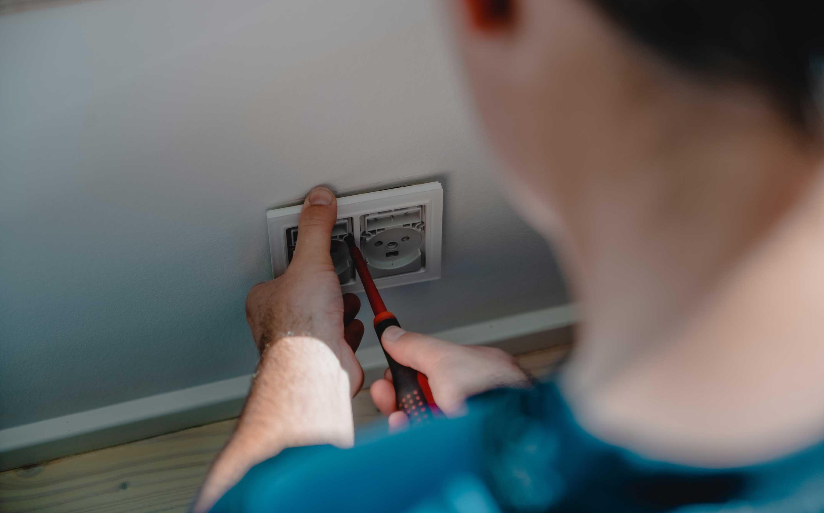 Vi leverer de bedste installationsløsninger til vores kunder - stikkontakt